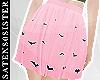 *S* Bats | Pink Skirt