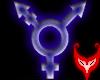 Transgender Blue Swirl