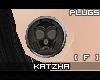 .K Mask Plugs |F