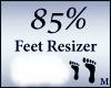 Perfect Feet Resizer 85%