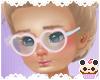 +Heart Pink&Blue Glasses