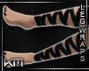 +KM+ PVC Leg Wraps Blk