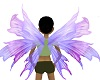 light purple fairy wings