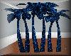 Bleu Neon Club Palm Tree