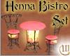 Henna Bistro Table Set
