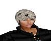 winter hat black hair