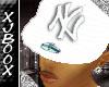 :SSF:White NY Hat