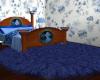 Fluffy Blue Rug