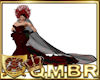 QMBR Wedding Gown Red