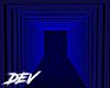 !D Blue Glow