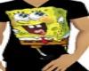 J' Sponge Bob V neck