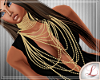 [L] Gold necklace Diva