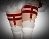 Xmas  Garter Boots