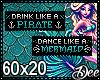 Mermaid Badge Bundle 1