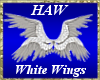White Quad Wings