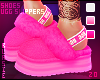 в. UGG Slippers Pink