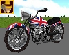Brit Animated Motorbike
