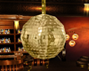 GOLD DISCO BALL ANIMATE