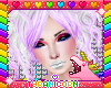 ⓣ Rainbow Wig #005