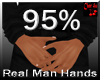 real men small hands 95%