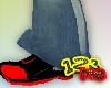 123me Black Red Runner