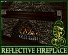 Reflective Fireplace