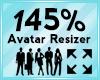Avatar Scaler 145%
