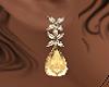 Gold & Diamond Earings