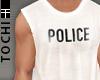 #T Vesto #Police White