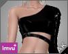 ~AK~ PVC Top: Black