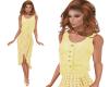 TF* Yellow Vest & Skirt