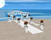 White Wedding Aisle
