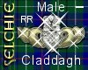 *S Claddagh M RtRng --