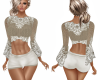 BohoKnit and Lace Outfit