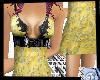 Yellow Fashion dress