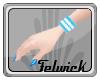 !Fel Blue R Wristband