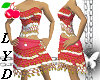 hamlet-red dress