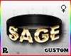 ☢! Sage Collar Gold