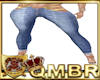 QMBR TBRD RL Jeans Gld