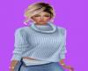 (wiz) Blue Sweater