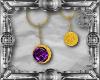 Glorious Purple Earrings