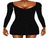 Black Lace Mini Dress 2