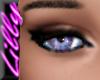 Lavender blue eyes