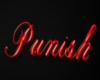 Punish Sign (red)