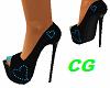 *CG* Blue Heart Heels