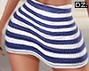 Navy Striped Skirt RLL!