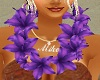 ~LB~Hawaiian Lei-Purple