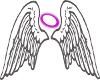 halo wings trpt sticker