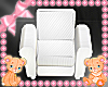 Kids scaled chair white