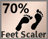 Feet Scaler 70% F